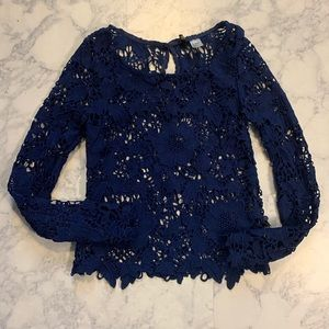 5 for $25 HM lace long sleeve